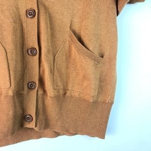 Fossil Sweaters - *3/25 Fossil brown button down sweater cardigan